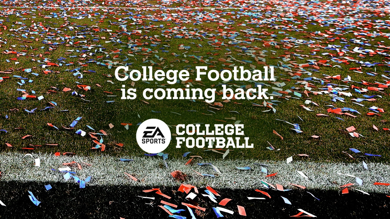 EA Sports Is Bringing Back College Football Games After 8 Year Hiatus