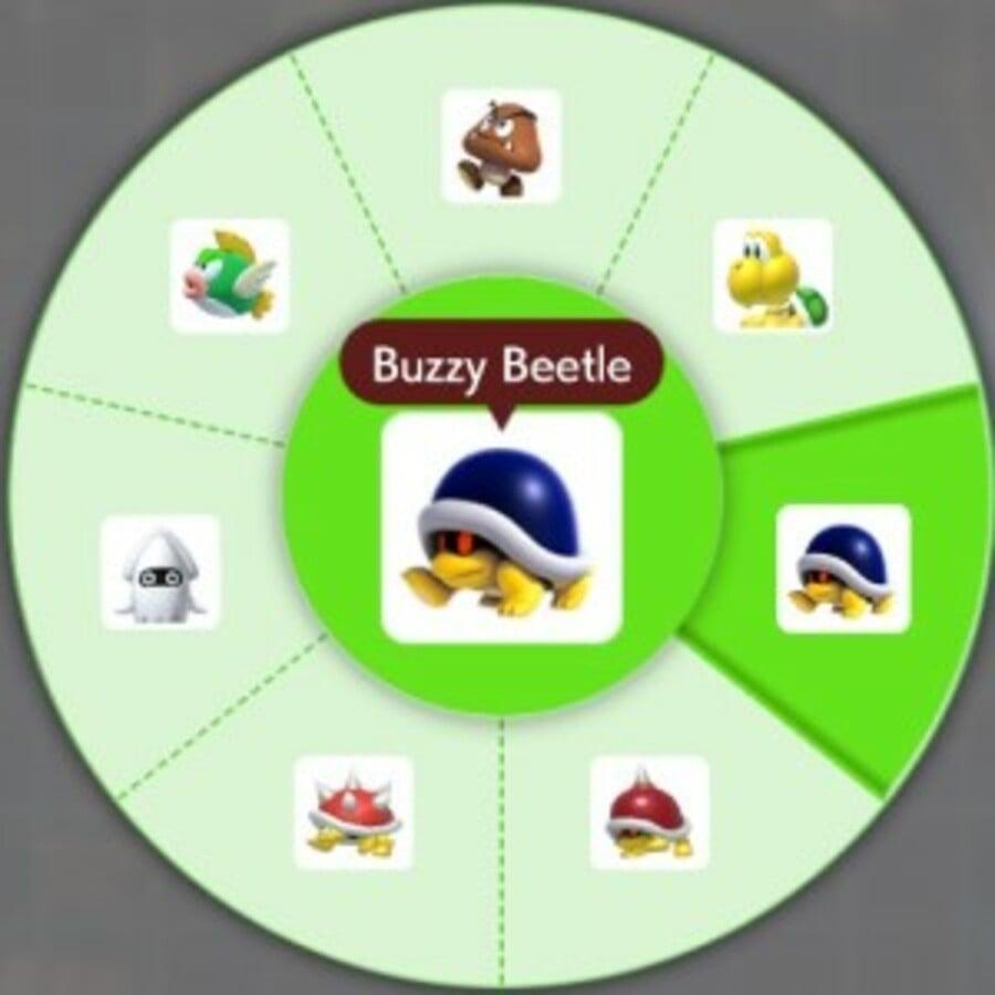 Buzzy Beetle Shell Helmet