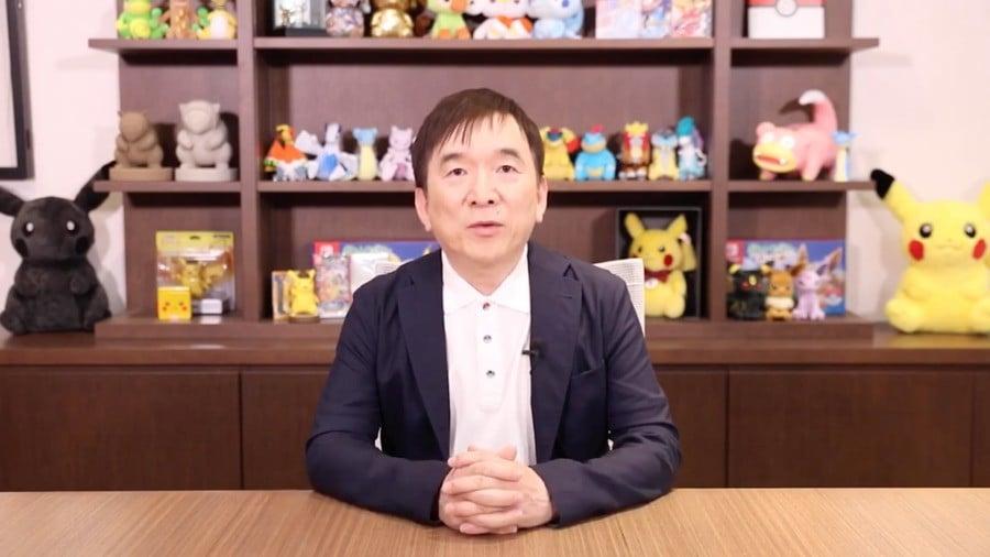 The Pokemon Company President Tsunekazu Ishihara