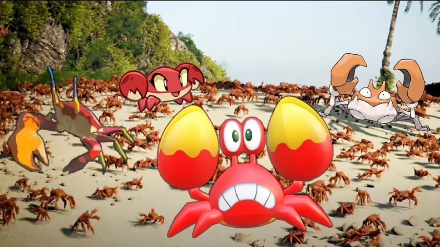 Crabs Crabs Crabs Crabs