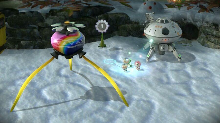 Pikmin 3 - Distant Tundra (Wii U)