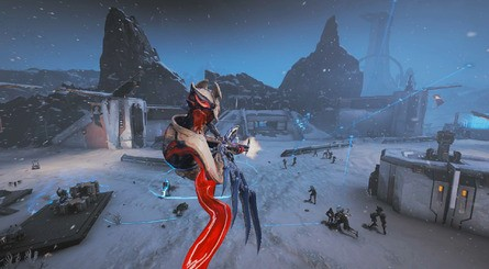 Warframe SwitchFortuna Combat6