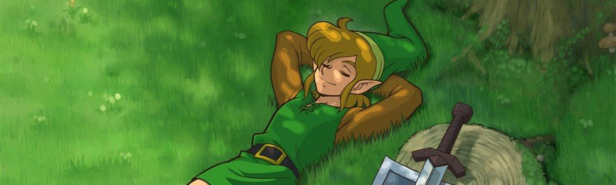 Zelda II Banner
