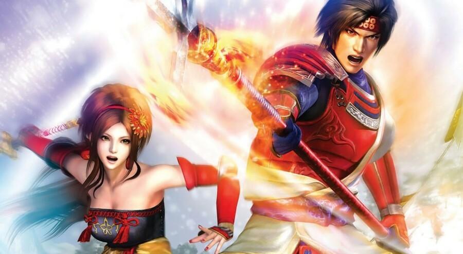 Samurai Warriors 3 Boxart