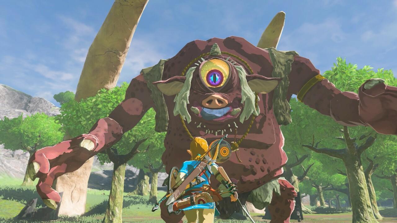 New Zelda: Breath Of The Wild Glitch Sends Link Flying Towards Enemies