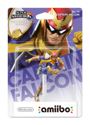 Captain Falcon amiibo Pack