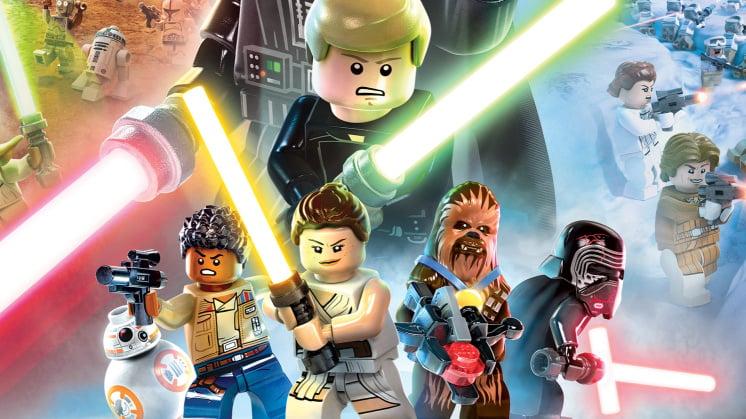 Start Menu Screen For LEGO Star Wars: The Skywalker Saga Supposedly Leaked