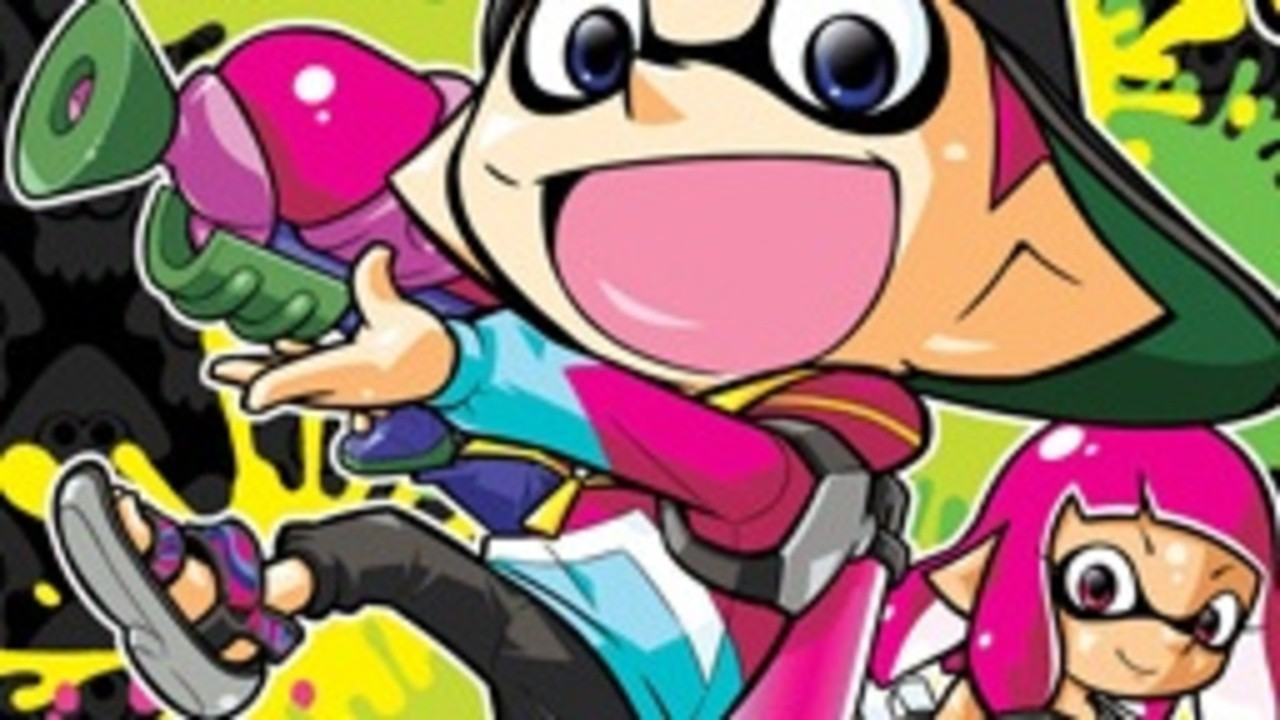 Splatoon's Squid Kids Comedy Show Manga Is Being Localised This July