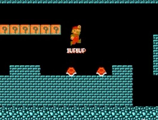 Mario 1 UP Trick