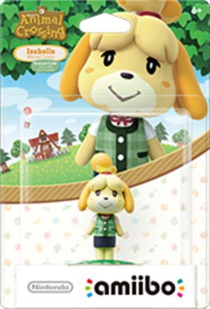 Isabelle - Summer Outfit amiibo Pack
