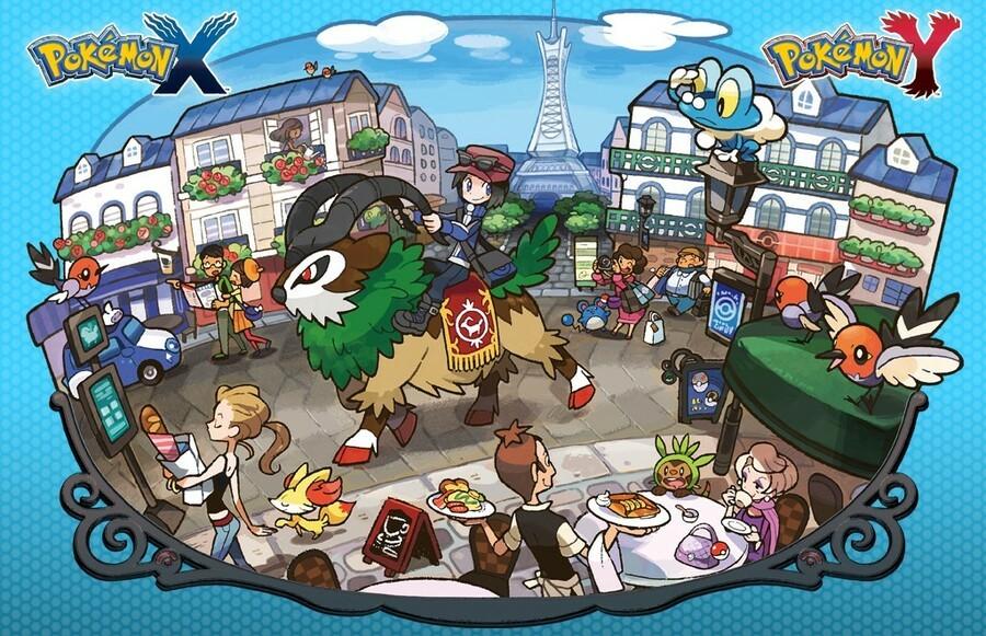 Gogoat - Pokemon X and Y