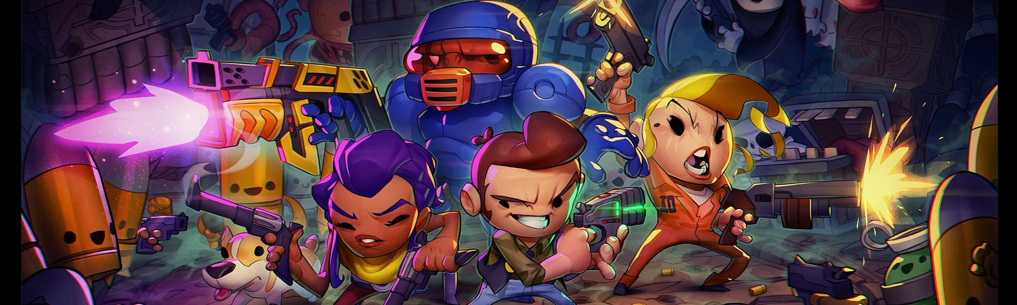 Special Reserve Games Reveals Enter The Gungeon Physical Switch