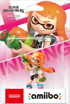 Inkling amiibo Pack