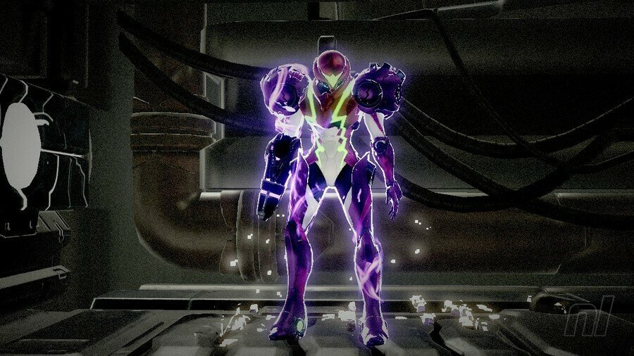 Metroid Dread Wave Beam