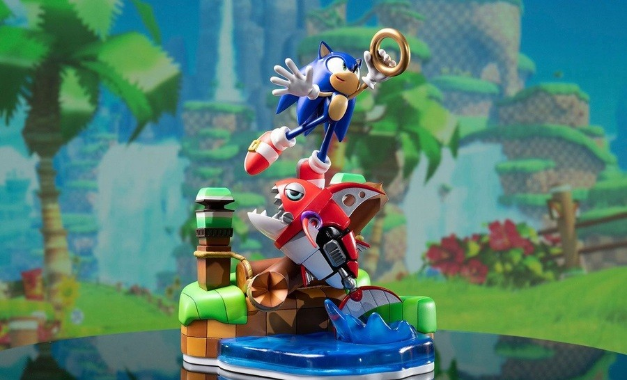 Sonic Chopper First Four Figure