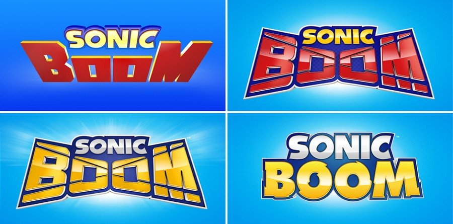 Sonic Boom Alternate Logos
