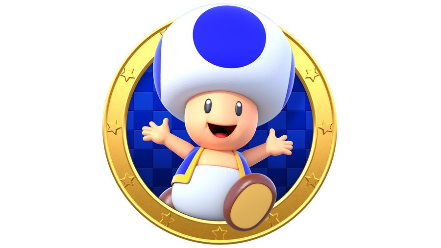 Blue Toad New Super Mario Bros. U Deluxe