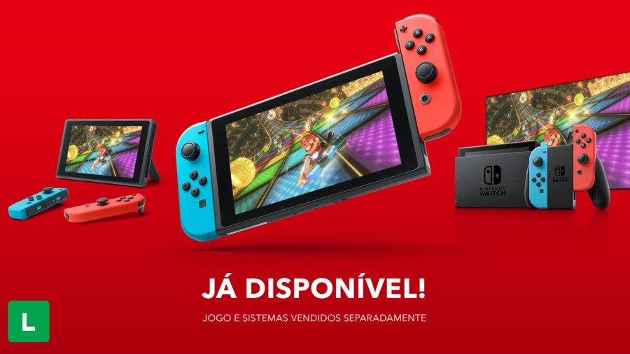 Nintendo Switch Brazil