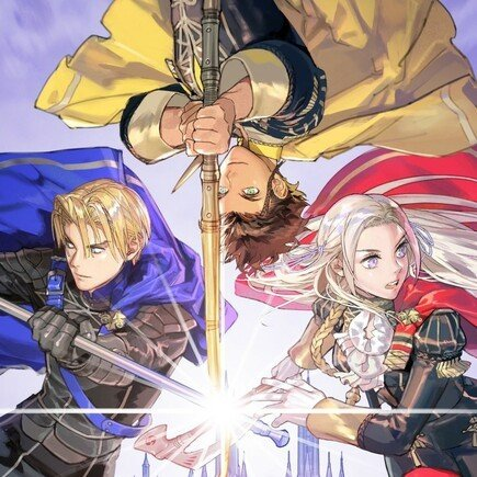 Edelgard, Dimitri and Claude