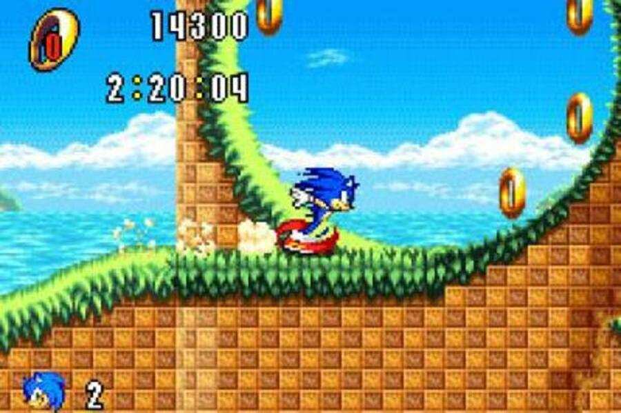 Sonic Advance Screenshot
