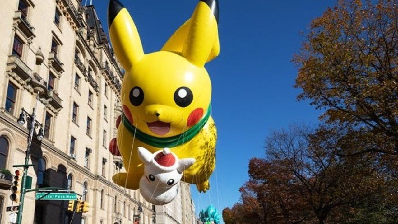 Pikachu Brings Miles Of Smiles To This Year S Thanksgiving Day Parade Nintendo Life Four flavors assortment set of delicious fruits gummy of japan. thanksgiving day parade nintendo