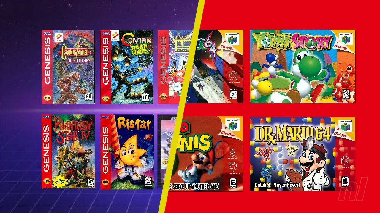 Poll: N64 And Sega Genesis Nintendo Switch Online Games Launch Today - Which Will You Play First? - Nintendo Life