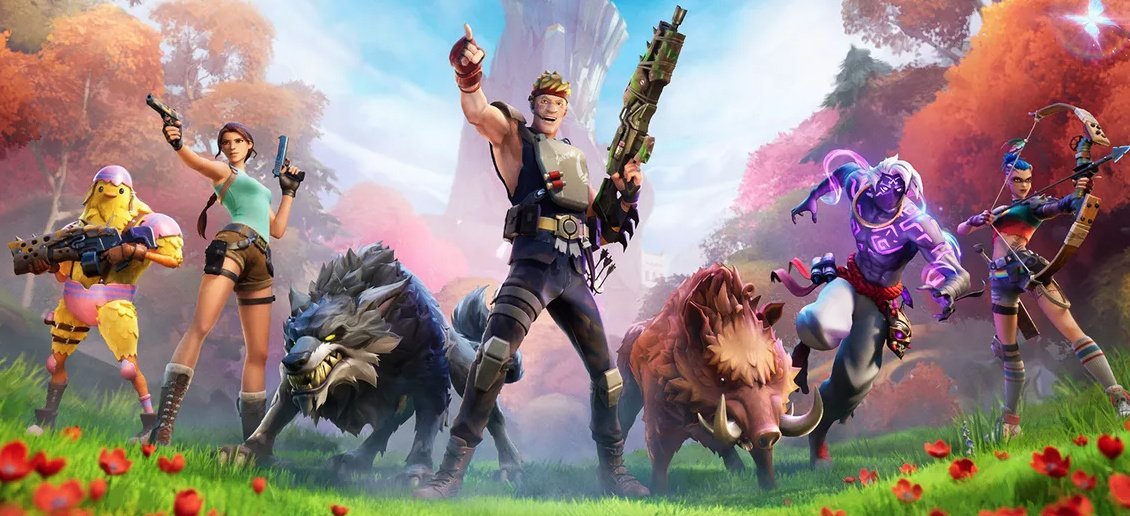 Fortnite Season 6 Introduces Animals, Crafting And Tomb Raider's Lara Croft