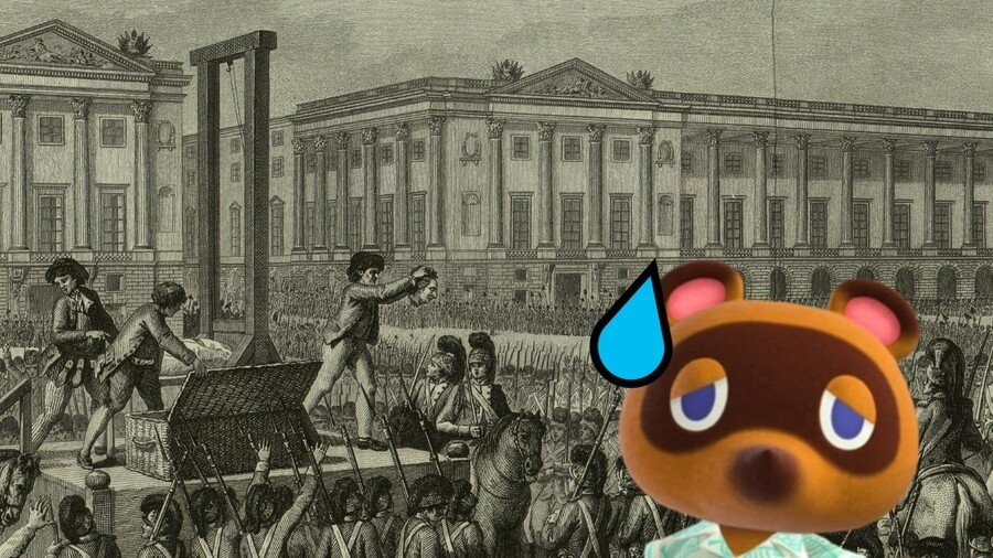 Tom Nook at the Guillotine