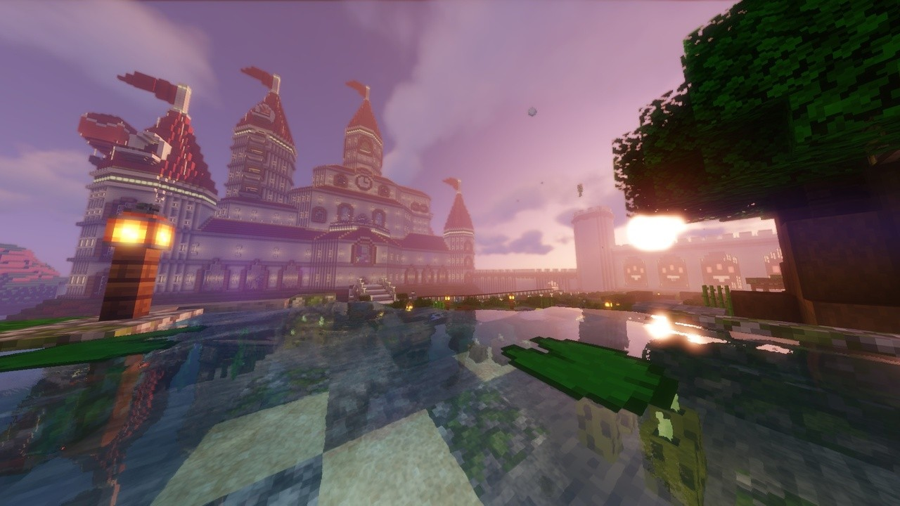 Random: This Minecraft Version Of Peach's Castle Includes A Secret Wario Room