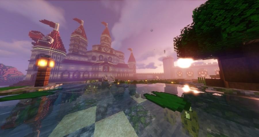 Peachs Castle Minecraft