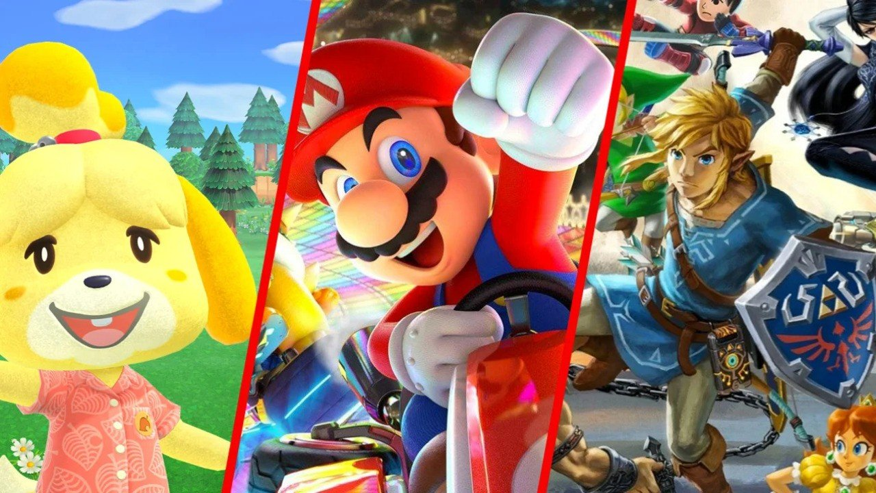Mario Kart 8 Deluxe Retains Its Crown In Nintendo Switch Best-Selling Games List
