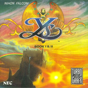 Two games for the price of one - Ys Book I & II!