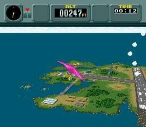 3D effects in Pilotwings