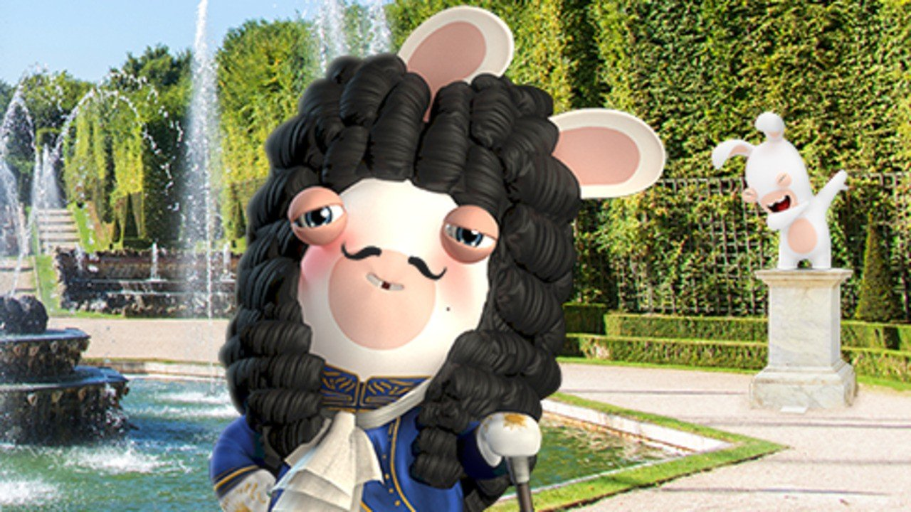 Ubisoft's Rabbids Invade The Palace Of Versailles In New Augmented Reality App