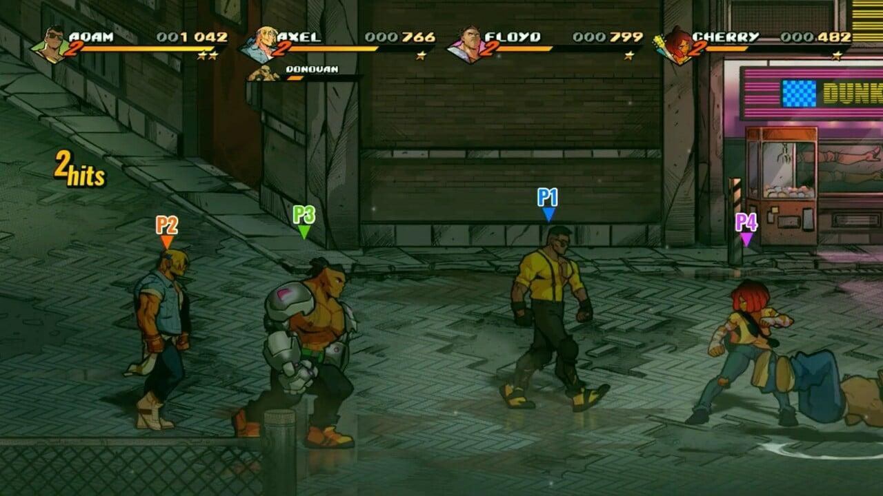Video: Echa un vistazo a 11 minutos de juego cooperativo Streets of Rage 4 45