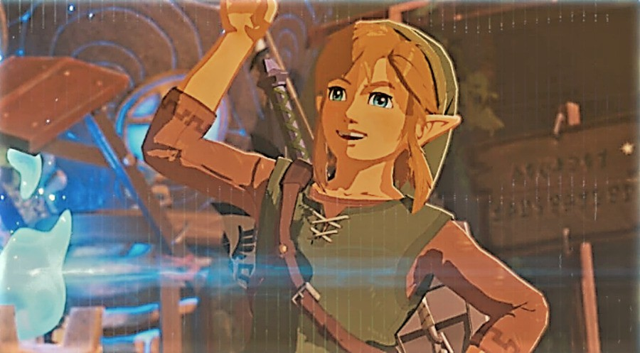 Zelda: BOTW Portrait Mode
