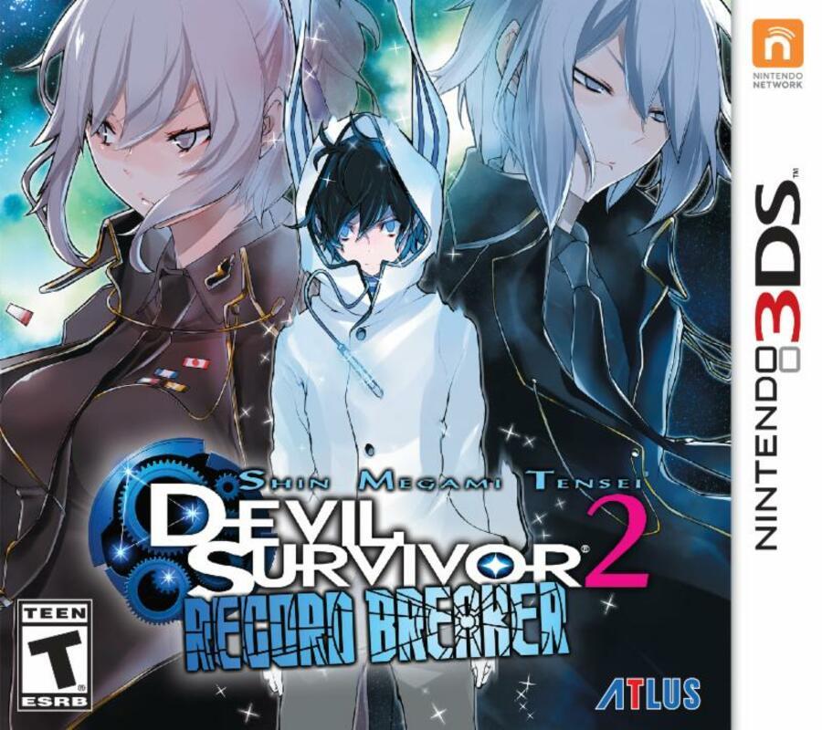 Devil Survivor Record Breaker Box Art
