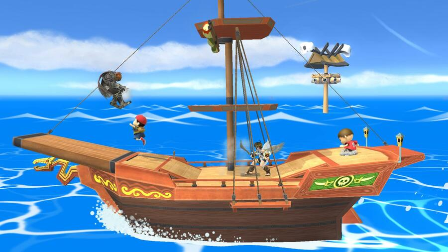Pirate Ship Stage