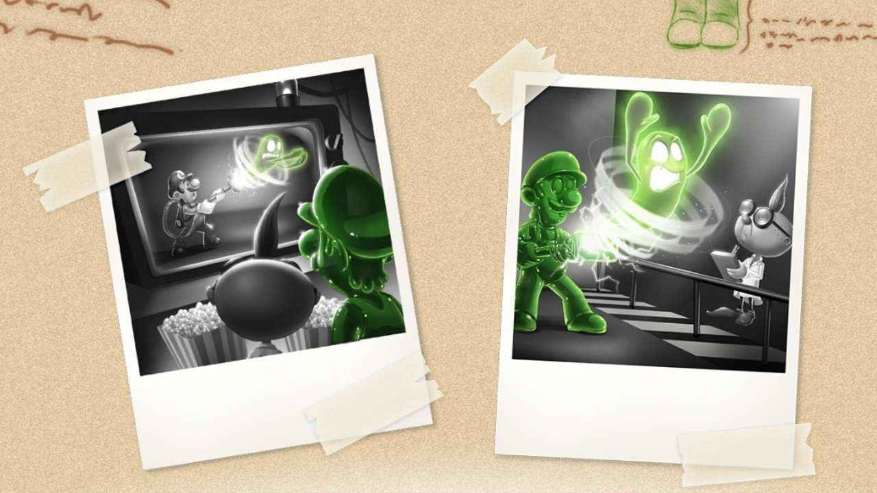 Luigi S Mansion 3ds Game Site Documents The Birth Of Gooigi