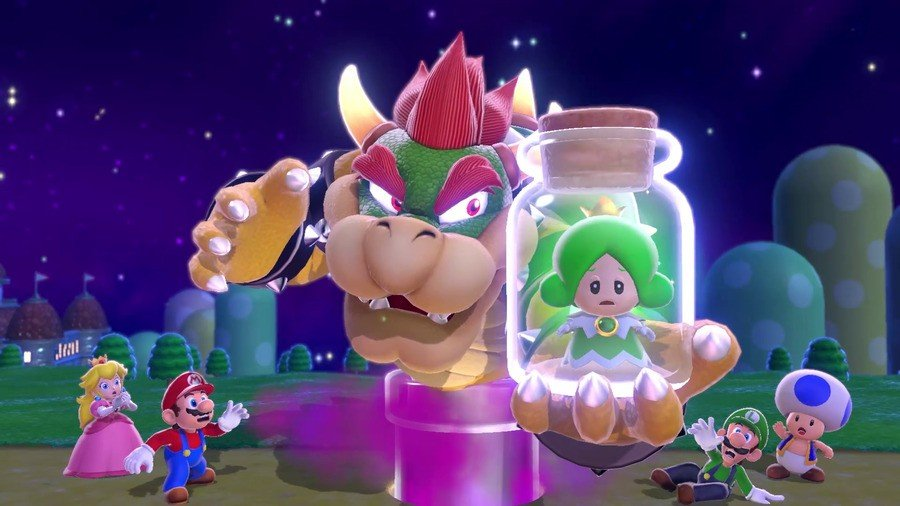 Super Mario 3D World Bowser's Fury