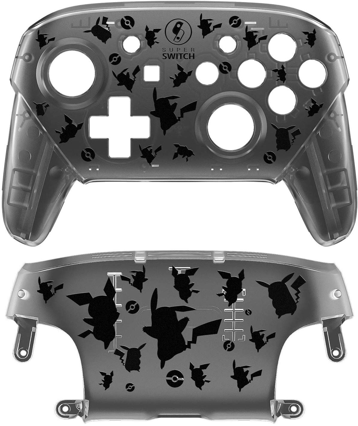 This Switch Pro Controller Replacement Shell Is Pokémon