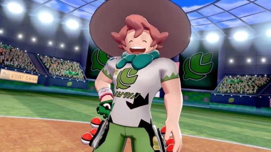 Rumour Is The Grass Type Gym Leader In Sword And Shield Teasing The