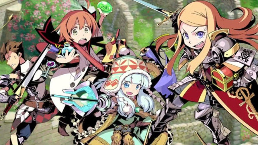 Etrian Dungeon