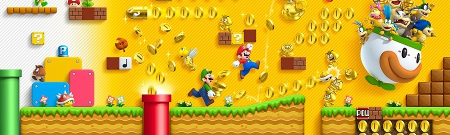 New Super Mario Bros. 2 Banner