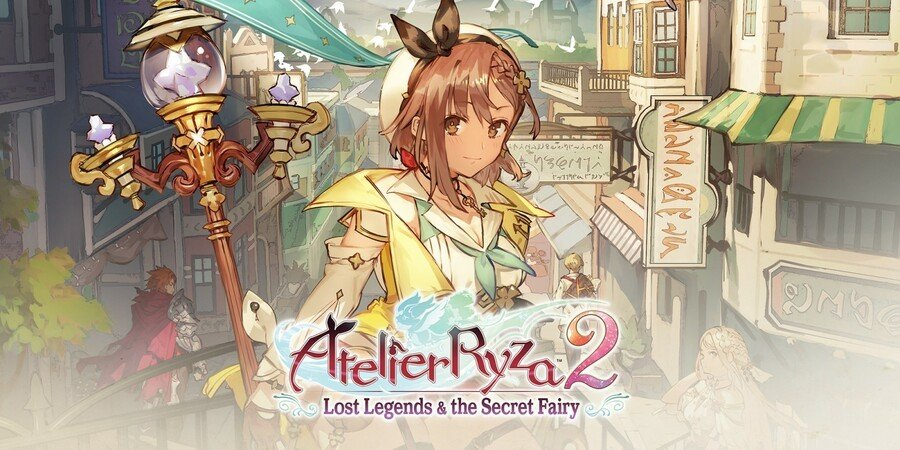 Atelier Ryza 2 Lost Legends And The Secret Fairy (Switch)