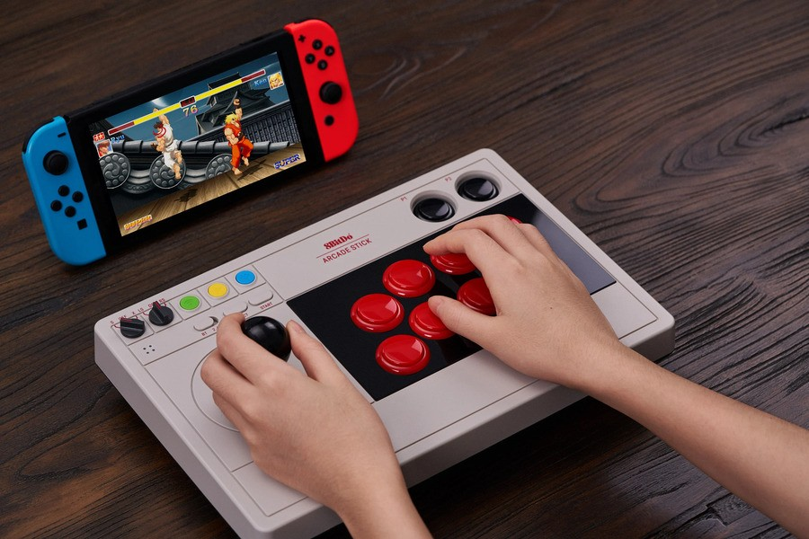 AbleGamers highlights how controllers like the 8Bitdo Arcade Stick can help players with conditions like Muscular Dystrophy