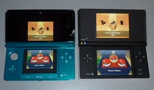 DS games in original resolution are fairly small, but very clear