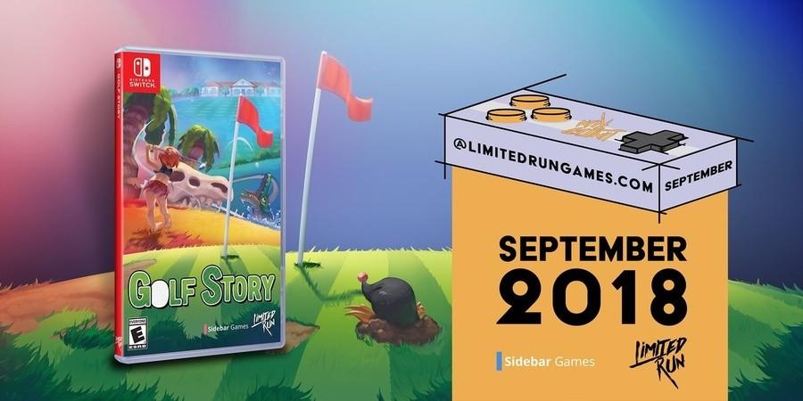 Golf Story Boxart
