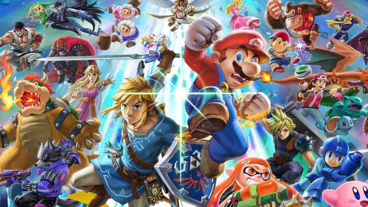 Random: Super Smash Bros  Fan Makes The Ultimate Custom Game