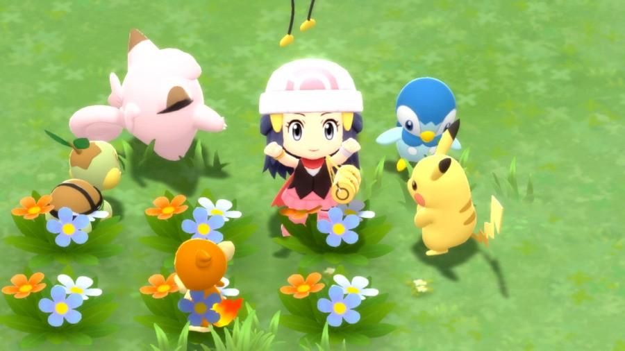 PokemonBDSP Dostluk Meydanı Sanat Eseri